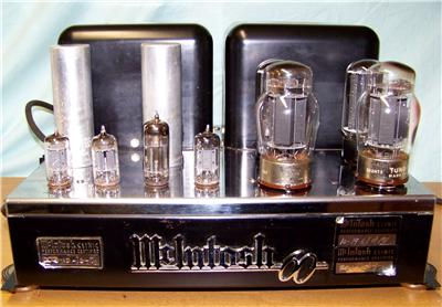 Tube Amplifier Vintage 66